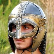Viking Helmet With Nose & Cheek Guard